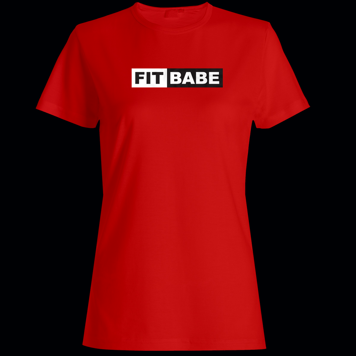 Ladies Fit Babe Tees Conquer Fitness